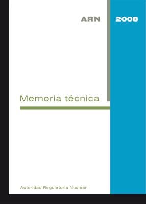 Memorias Técnicas